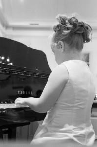 Girl Playing Piano 1