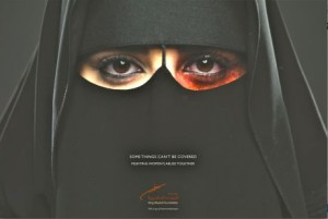 The No More Abuse campaign hopes to help those who are enduring abuse in silence. (Photo: King Khalid Foundation)