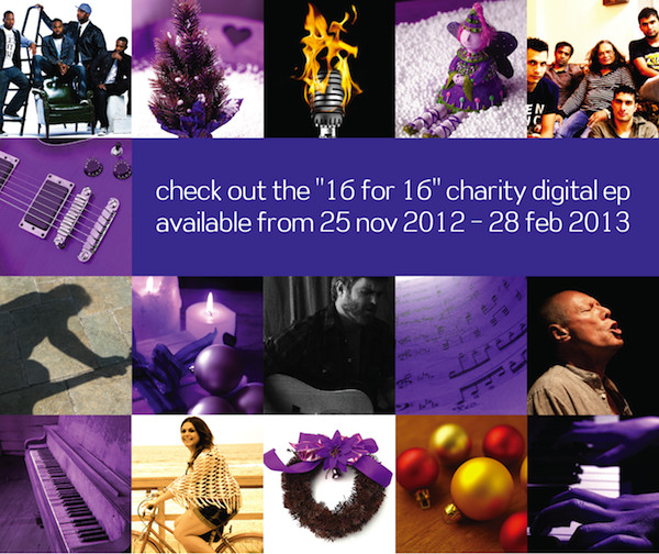 check out the 16 for 16 charity digital ep