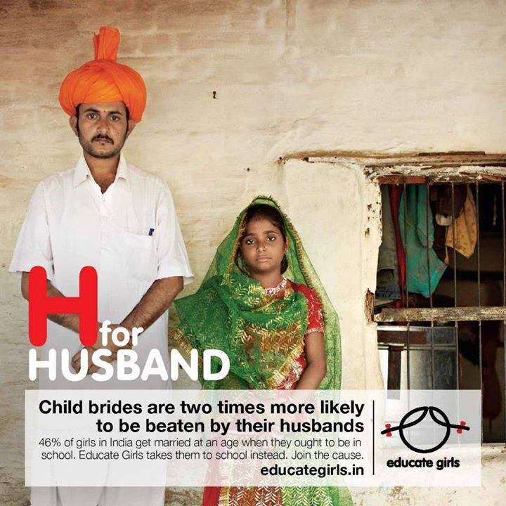 Child Brides twice as likely to be beaten
